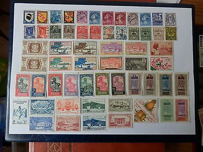 FRANCE STAMPS ASSORTMENT OF COLONIES b
