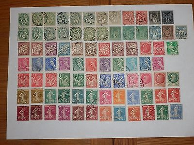 France Used Stamps