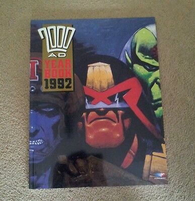 2000ad  Yearbook 1992