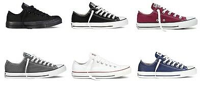 NEW Ladies Mens Converse All Star Ox CT Low Trainers UK Size 3 4 5 6 7 8 9 10 11