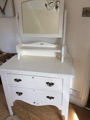 White Victorian Dressing Table