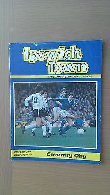 Ipswich Town V Coventry City 1979-80