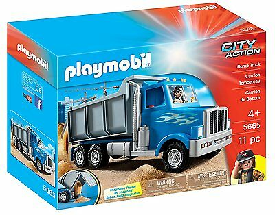 Playmobil City Action 5665 Dump Truck Camion Tombereau *brand New & Sealed*