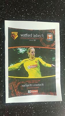 Watford Ladies V Everton Ladies 2009-10