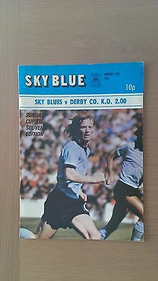 Coventry City V Derby County 1973-74