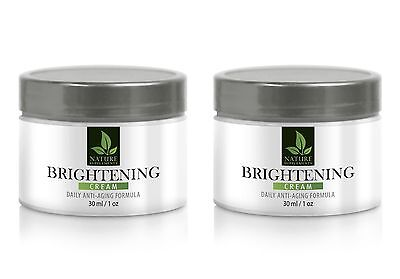 Alpha arbutin soap - BRIGHTENING CREAM - ANTI AGING FORMULA 60 ml/1oz - 2 Bot