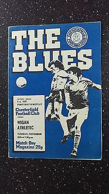 Chesterfield V Wigan Athletic 1980-81