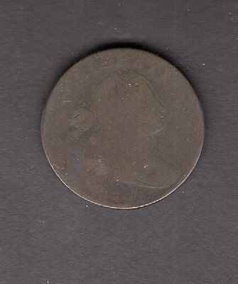 US 1798 Draped Bust Large Cent Coin in AG-G Good Condition
