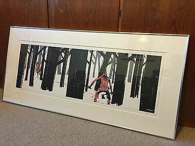 Signed Jamie Hewlett Print - The Hick - 2004 - Rare -  Limted Edition