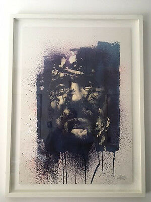 Signed Limited Edition - Vhils - Decay Print - Rare