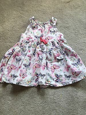 Baby Girl Butterflies Summer Dress 6M