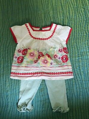 Monsoon Girls Outfit 12-18 Months