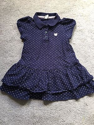H&M Baby Girl Summer Dot Dress 6-9M