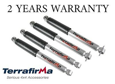 Land Rover Discovery 2 Td5 Terrafirma Heavy Duty Shock Absorbers Front & Rear