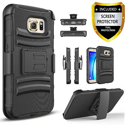 For Samsung Galaxy S6/S6 Active/S6 Edge/S6 Edge Plus/Belt Clip Phone Case+Stylus