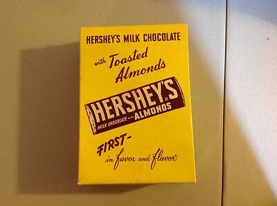 Vintage Hershey's Candy Bar Box