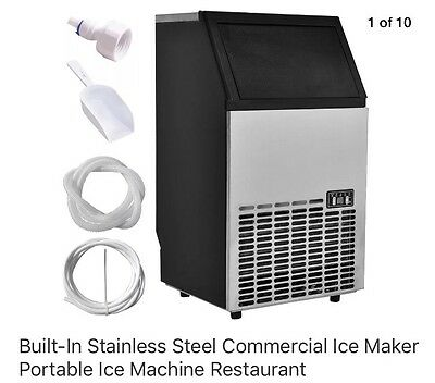 Commercial Stainless Steel Ice Maker Machine