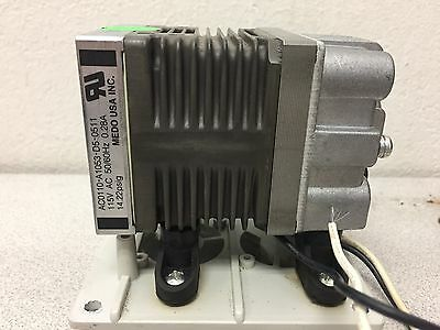 MEDO USA AC0110-A1053-D5-0511 Air Compressor Pump 14.22 PSIG 115 VAC