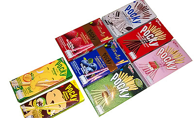 Pocky Biscuit Sticks - Choose Your Flavour(S) Mix Or Match