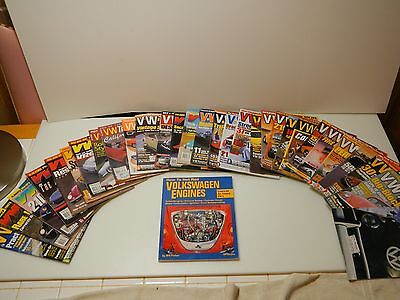 Lot Of 30 Vw Trend Magazines