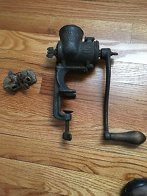 Vintage Russwin No. 1 Grinder With Extras