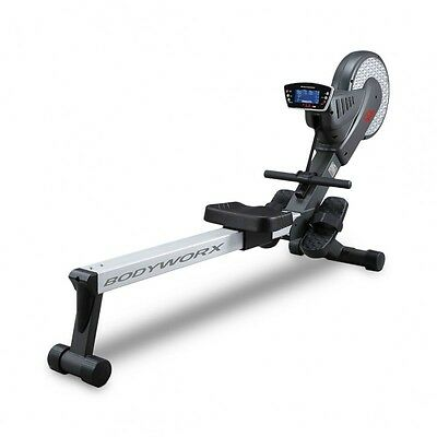 NEW Bodyworx KR800 Air and Magnetic Resistance Rower with Computer Console and P