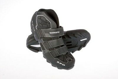 Shimano SH-AM50 SPD MTB Shoes Black/White - Size 7.6 US - New - RRP $179.00