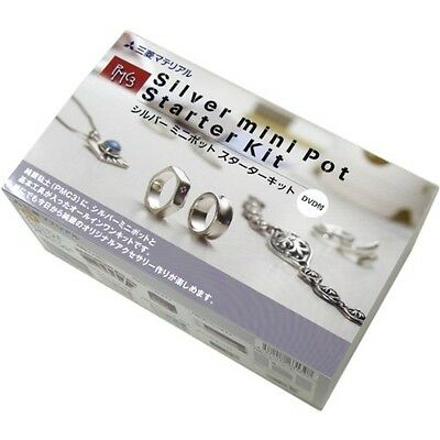 PMC3 Silver Art Clay Ring Pendant Making Tool Set Jewelry Kiln Kit with DVD F/S
