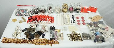 vintage antique button huge lot sewing craft collection