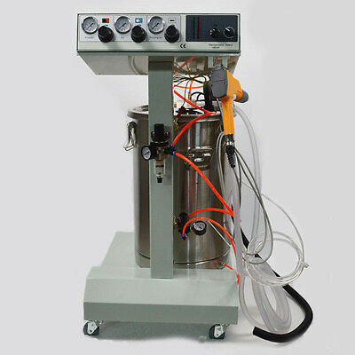 TECHTONGDA 110V Electrostatic Powder Coating Machine Spray Gun Paint System