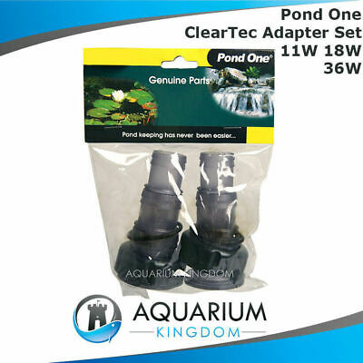 11682 Pond one ClearTec Adapter Set 11W 18W 36W - Inlet Outlet Clarfier Adaptor