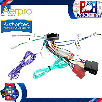 Aerpro Kenwood Iso Connection Harnesses To Suit DDX9017DABS DNX9170DABS APP8KE6