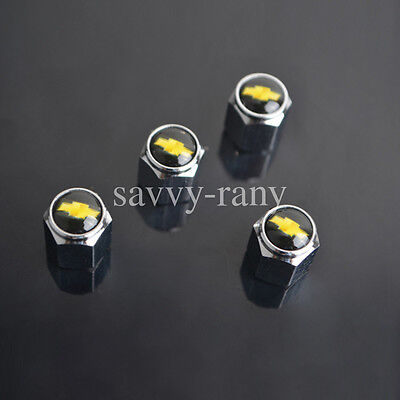 Car Tire Tyre wheel Valve stems caps For Chevrolet All Model 4PCS/SET