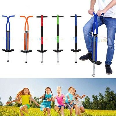 Modern Single/ Double Pogo Jump Stick Stick Iron Alloy Anti-skid for Children UK