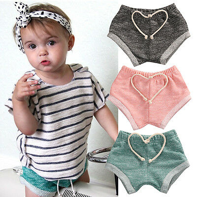 Toddler Infant Baby Boy Girl Kids Cotton Pants Shorts Bottoms PP Bloomer Panties