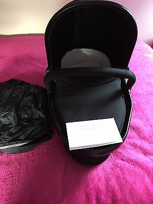 icandy peach 3 carrycot Jet Black