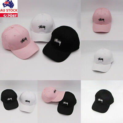 AU Men Women Adjustable Baseball Hip Hop Kpop Bboy Cap Outdoor Sun Snapback Hats