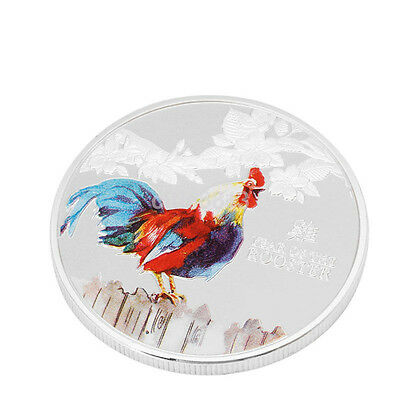 HOT Niue 2017 Lunar Year Of The Rooster Elizabeth II Commemorative Coin Gift US
