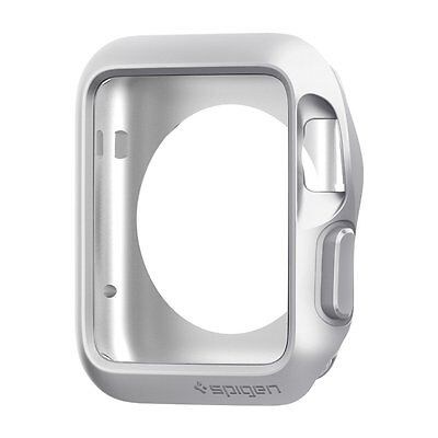 Slim Armor Apple Watch Case with Air Cushion Technology and 2 Screen Protectors