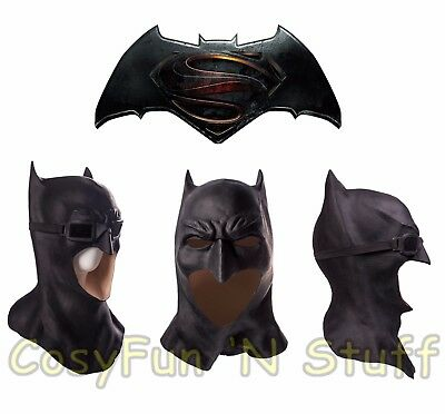 2017 Cosplay Deluxe Justice League Batman Mask Adult Superhero Costume Mask New