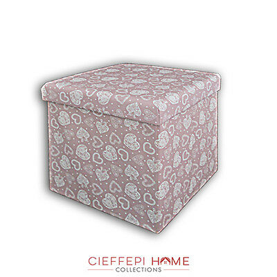 Pouf contenitore art. Sharon - Cieffepi Home Collections