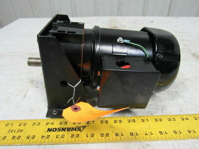 BISON 016-246-6019 1/6-1/7 HP AC Gearmotor 60/50Hz 86RPM 115/230 110/220V 19.1:1