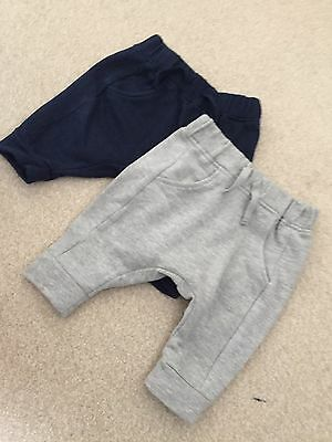 Next Baby Boy Joggers x2 - Up To 3 Months