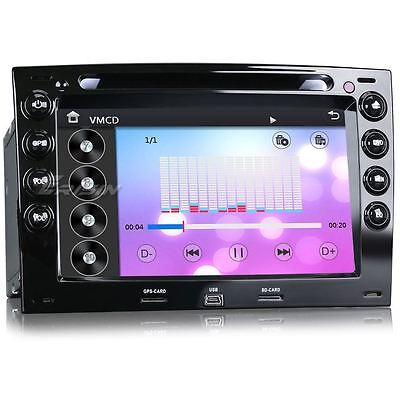 Car Radio dvd gps Navigation bluetooth usb TDT-IN 3G DVR Renault Megane 7691MGS