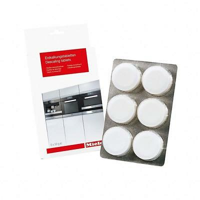 100% Genuine Miele Descaling Cleaning Tablets- 6 Pack