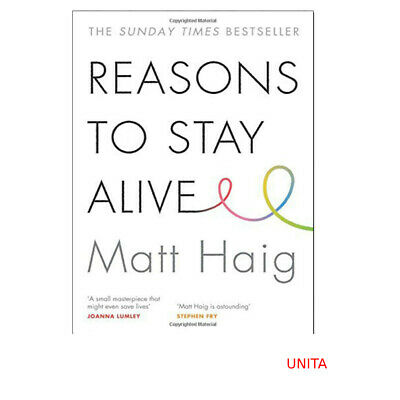 Reasons to Stay Alive Book By Matt Haig