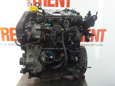 2004 RENAULT KANGOO K9K702 1461cc Diesel Manual Engine with Pump Injectors Turbo