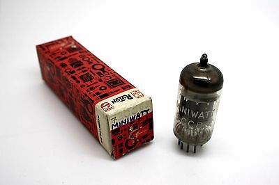Philips Miniwatt Ecc83 - 12Ax7 Vacuum Tube - Microtracer Test! 114% 101% (7)