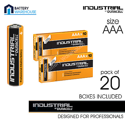 Duracell Industrial Alkaline AAA 1.5v Battery - Pack of 20 | Procell MN2400 LR03