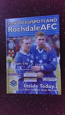 Rochdale V Lincoln City 2003-04